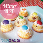 Wiener Mini Gugl mit Rosinen