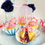 Smarties Cupcake