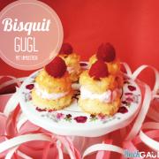 Bisquit Gugl mit Himbeercreme