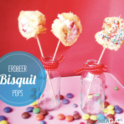 Erdbeer-Bisquit Pops