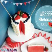 Wassermelonen Torte