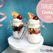 Trauben-Cookie-Creme