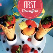 Obst-Eiswaffeln