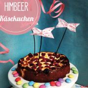 Himbeer-Käsekuchen