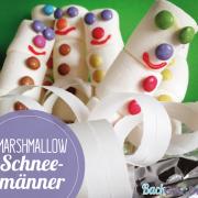 Marshmallow Schneemänner