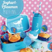 Joghurtmuffins mit Pflaumen