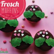 Frosch-Muffins (Zimt-Muffins)