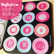 DIY - Adventskalender in Muffinformen
