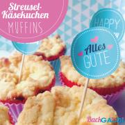 Streusel Käsekuchen Muffins