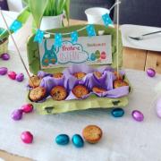 Minimuffins im Eierkarton