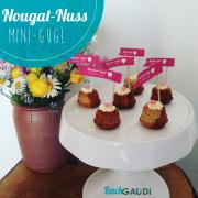 Nougat-Nuss Mini-Gugl