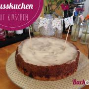 3 Teile Kuchen (Nuss, Kirschen, Mürbteig)