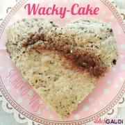 Wacky-Cake Schoko-Nuss