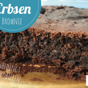 Erbsen Brownies