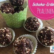 Schoko-Erdnuss Pralinen